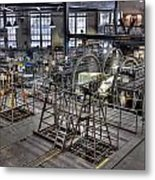 Cable Car Museum San Francisco Metal Print