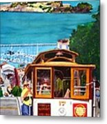 Cable Car No. 17 Metal Print