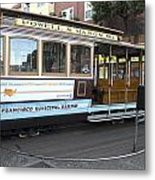 Cable Car Turn-around At Fisherman's Wharf No. 2 Metal Print