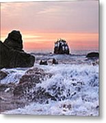 Cabo Sunrise Metal Print
