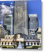 Cabot Square London Metal Print