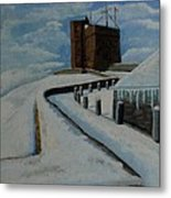 Cabot Tower Newfoundland Metal Print