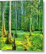 Cache River Swamp Metal Print