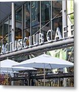 Cactus Club Metal Print