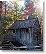 Cade's Cove Mill Metal Print