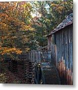 Cades Cove Mill Metal Print