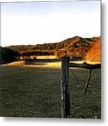 Cades Cove Metal Print by Skip Willits