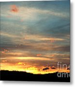 Cades Cove Sunset Metal Print