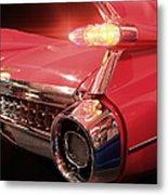 Cadillac Fin Tail Metal Print