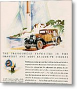 Cadillac La Salle 1929 1920s Usa Cc Metal Print by The Advertising Archives