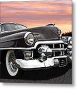 Cadillac Sunset Metal Print