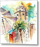 Cadiz Spain 12 Metal Print