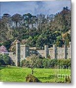 Caerhays Castle Metal Print