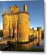 Caerlaverock Castle - 2 Metal Print