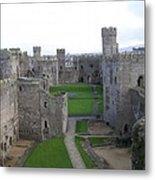 Caernarfon Castle Metal Print