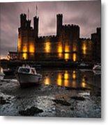 Caernarfon Castle Wales Metal Print