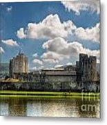 Caerphilly Castle 3 Metal Print