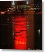 Caesars Reflection Metal Print