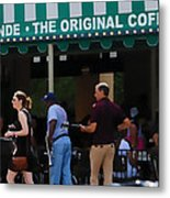 Cafe Cafe  Metal Print by Kenneth Feliciano