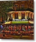 Cafe Le Champ Mars  Metal Print