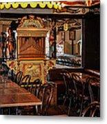 Cafe Chez Eugene - Montmartre Metal Print