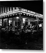 Cafe Du Monde Metal Print