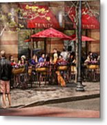 Cafe - Hoboken Nj - Cafe Trinity  Metal Print