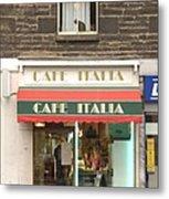 Cafe Italia Metal Print by Mike McGlothlen