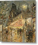 Cafe La Marin. Paris Metal Print