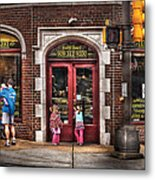 Cafe - The Italian Bakery Metal Print