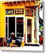 Caffe Ciao Metal Print