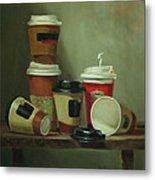 Caffeine Buzz Metal Print