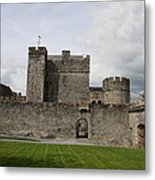 Cahir's Castle Second Courtyard Metal Print