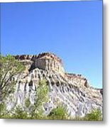Caineville Mesa Caineville Utah Metal Print