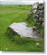 Cairn T At Loughcrew Metal Print