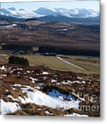 Cairngorms Mountains From Dorback Metal Print