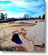 Cairns In The Wilderness Metal Print