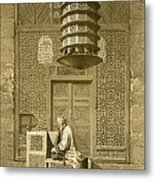 Cairo Funerary Or Sepuchral Mosque Metal Print