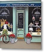 Caitlin's Cakery And Cafe Metal Print
