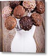 Cake Pops Metal Print by Jane Rix