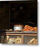 Cake Shop In Kathmandu Metal Print