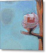 Cakes In Tutus In A Tree Metal Print