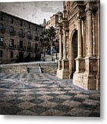 Calahorra Cathedral And Palace Metal Print