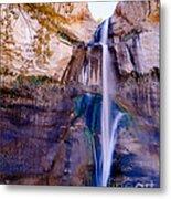 Calf Creek Falls 2 Metal Print