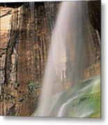 Calf Creek Falls Ut Usa Metal Print