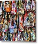Calico Bags Metal Print