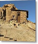 Calico Ghost Town Silver Mine In San Bernadino California Metal Print