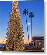California Christmas Metal Print