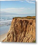 California Coast Metal Print