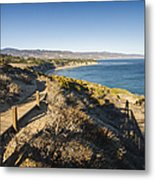 California Coastline From Point Dume Metal Print